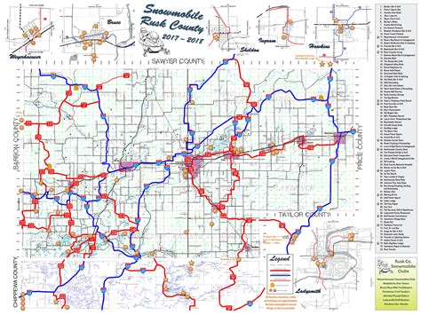 Snowmobiling   Rusk County Wisconsin : Rusk County Wisconsin