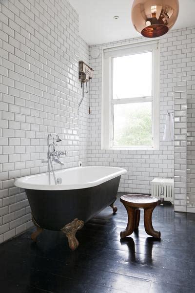 black clawfoot tub contemporary bathroom  fine stay