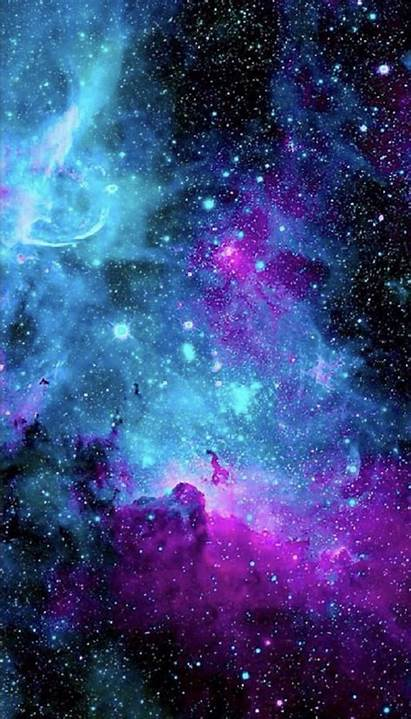 Galaxy Wallpapers Backgrounds Phone Aesthetic Nebula Cool