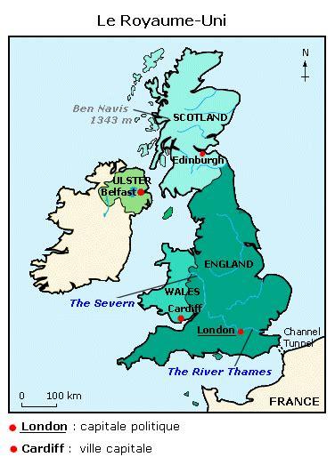 Carte Montagne Cycle 3 by Cours De Anglais Primaire Cycle 3 Le Royaume Uni Les