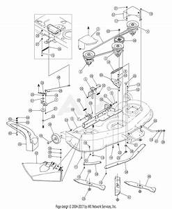 Mtd 13ag601h729  2005  Parts Diagram For Deck Assembly