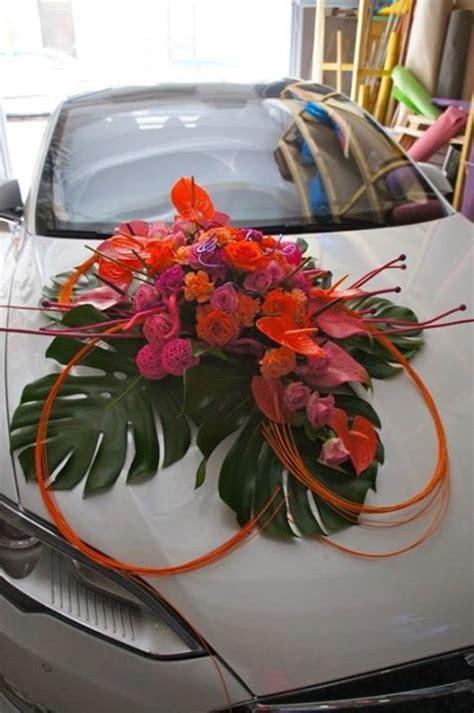 day event decoration de voiture mariage acidulee