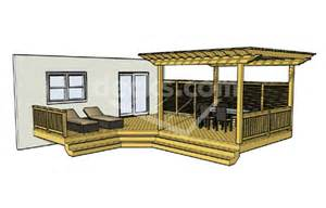 home plans with front porch decks free plans