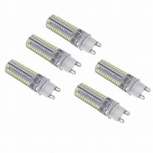 G9 Led Test : best 5pcs mini g9 led light 5w 3014 smd 104 leds crystal corn bulb white sale online shopping ~ Eleganceandgraceweddings.com Haus und Dekorationen