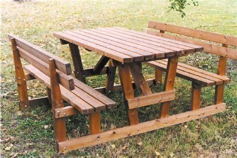 tavoli da pic nic tavoli da pic nic legno decoupageitalia