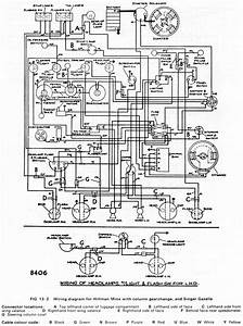 Hillman Car Club Of South Australia  U2013 Wiring Diagrams