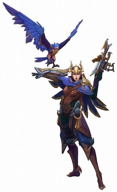 Quinn League Legends Valor Lol Concept Legend