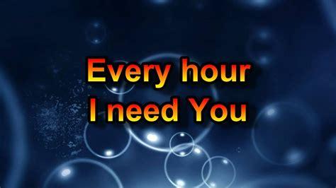 Lord I Need You - Chris Tomlin - YouTube