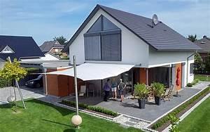 emejing sonnensegel terrasse sonnenschutz ideas house With französischer balkon mit sonnenschirm elektrisch
