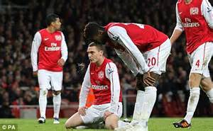 Arsenal Wenger: Arsenal suffered from 'mental and physical ...