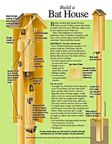 bat house plans woodworking projects plans