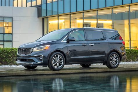 Kia 2019 : 2019 Kia Carnival Facelift Revealed, V6 Gets 8-speed Auto