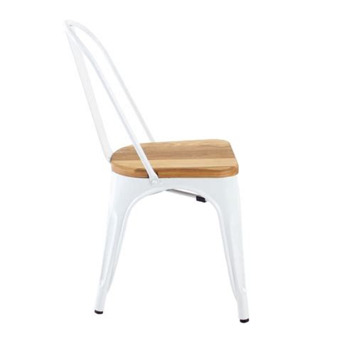 Replica Tolix Chair Cushion by Replica Xavier Pauchard Wooden Seat Tolix Chair