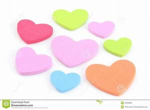 Colorful Hearts Royalty Free Stock Photos - Image: 19209688