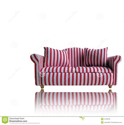 red and white sofa red and white sofa stock photo image 15768700