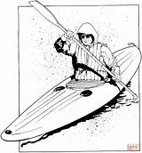 Kayak Coloring Pages Printable Floating Supercoloring Results Powered Bing sketch template