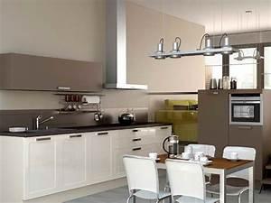 cuisine cuisine moderne blanche et grise cuisine moderne With cuisine grise quelle couleur au mur