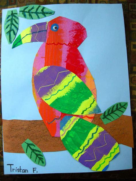 zilker elementary art class st  grade eric carle