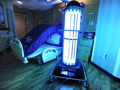 uv licht desinfektion successful trial leads to tru d uv disinfection robot implementation