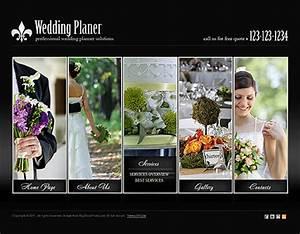 wedding planner html5 template best website templates With wedding photography website templates