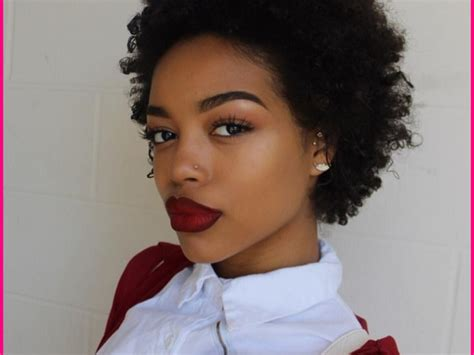 short natural african american hairstyles can make you