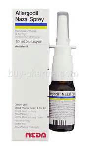 Allergodil Nasal Spray - Buy Allergodil Nasal Spray Azelastine Nasal Spray