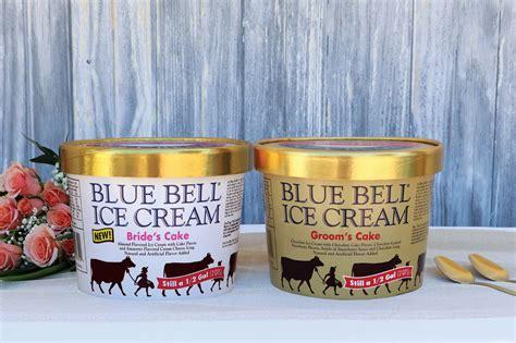 blue bell introduces  brides cake ice cream houston