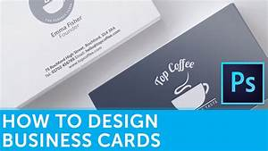 How to design a business card in adobe photoshop for How to design a business card in photoshop