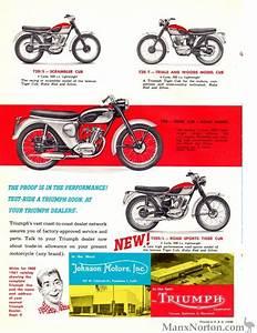 Triumph 1961 Cub 200cc Brochure Usa