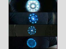 Arch Reactor in Tony Stark's Chest Iron Man 1,2 Avengers