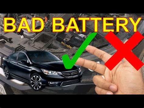 battery problems  gen honda accord youtube