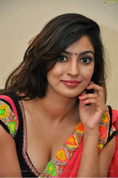 Telugu Saree Joshi Vaibhavi Actress Wallpapers Teen