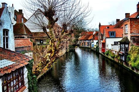 Belgium Cottages by Canal Cottages In Bruges Belgium Favorite Places