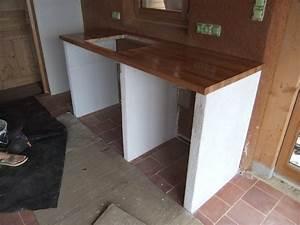 fabriquer un ilot de cuisine en bois lsmydesigncom With fabriquer sa cuisine en bois