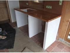 cuisine d ete en beton cellulaire miroir de salle de bain castorama le rest - Fabriquer Meuble Salle De Bain Beton Cellulaire