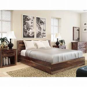 Jamaica Rustic Solid Wood 5 Piece King Size Bedroom Rtp
