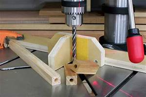 Vertical Hole Alignment Drill Press Jig Woodworking