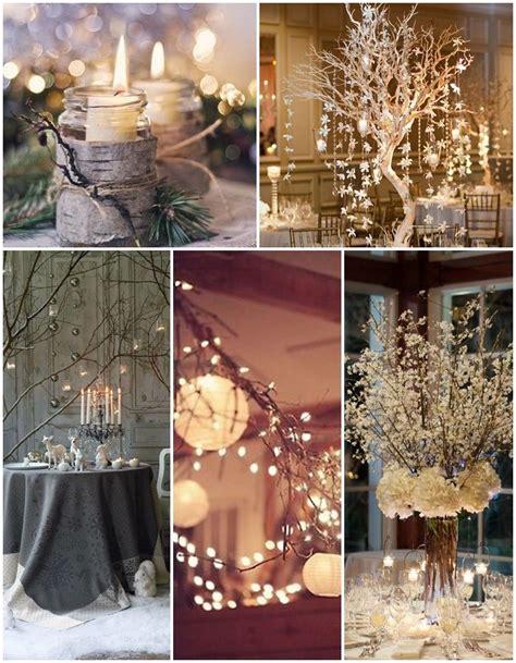 decoration mariage theme hiver les 25 meilleures id 233 es concernant d 233 corations hivernale sur no 235 l en or d 233 corations