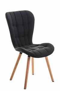 chaise salle a manger elda fauteuil tissu bois cuisine With salle À manger contemporaineavec fauteuil cuisine design
