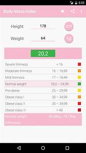 Amazon Com Bmi Calculator For Women Appstore For Android