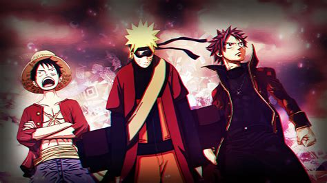 Anime Crossover Wallpaper - crossover hd wallpaper background image 1921x1080 id
