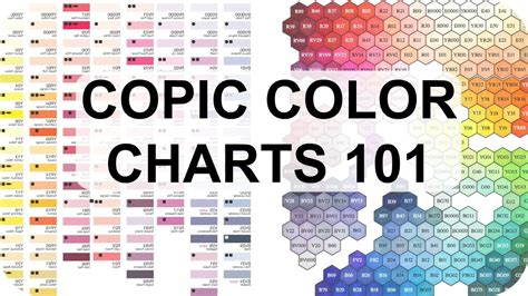 copic color chart copic color charts why they re useful featuring hex