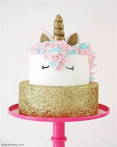 How To Make a Unicorn Birthday Cake - Party Ideas Party
