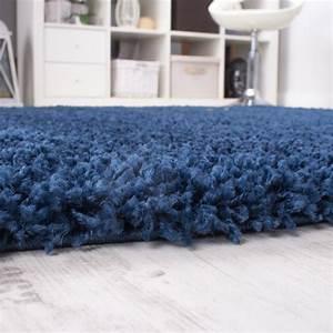 Hammer De Teppich : shaggy blau hochflor langflor teppich blue einfarbig top aktion zum hammer preis wohn und ~ Indierocktalk.com Haus und Dekorationen