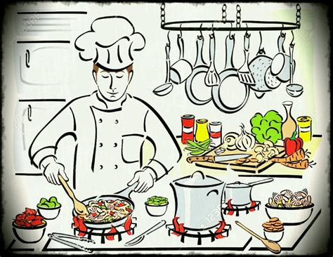 cheap living room ideas apartment restaurant kitchen clipart chef cliparts free