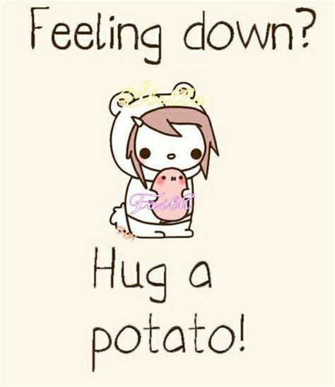 one tiny turtle read and hug a potato be a kawaii potato anime amino