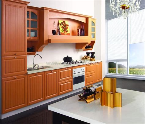 kitchen cabinet mdf pvc   pvc china kitchen