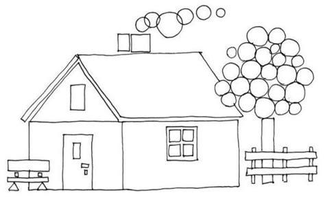 dessin maison a imprimer maison coloriages autres page 2