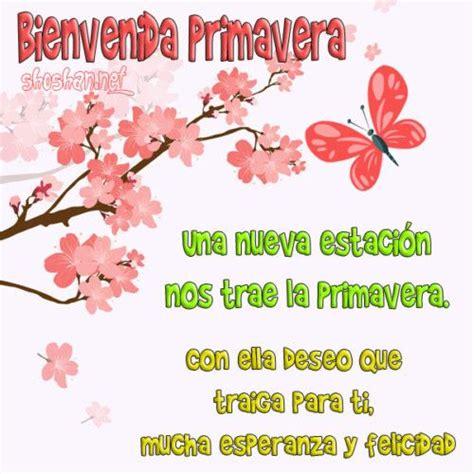Imágenes y frases hermosas para saludar a la primavera y