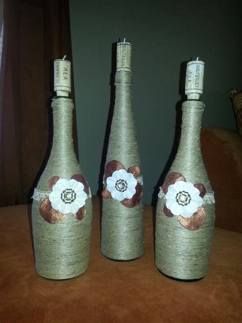 185 best wine bottle decorations images on wine bottle decorations decorated
